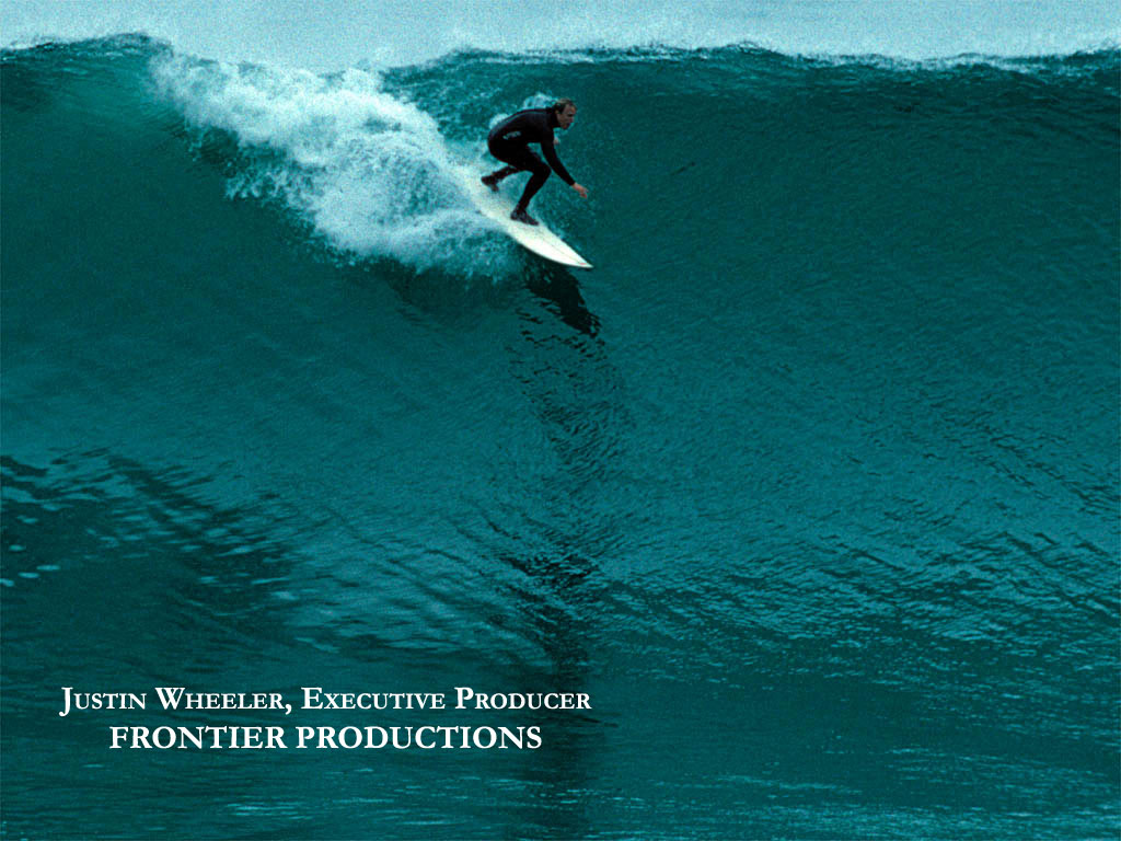 Justin Wheeler surfing